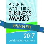 Adur and Worthing Business Award Winner logo